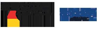 Man sieht zwei Logos: Bundesinstitut für Arzneimittel und Medizinprodukte und Aphria Germany